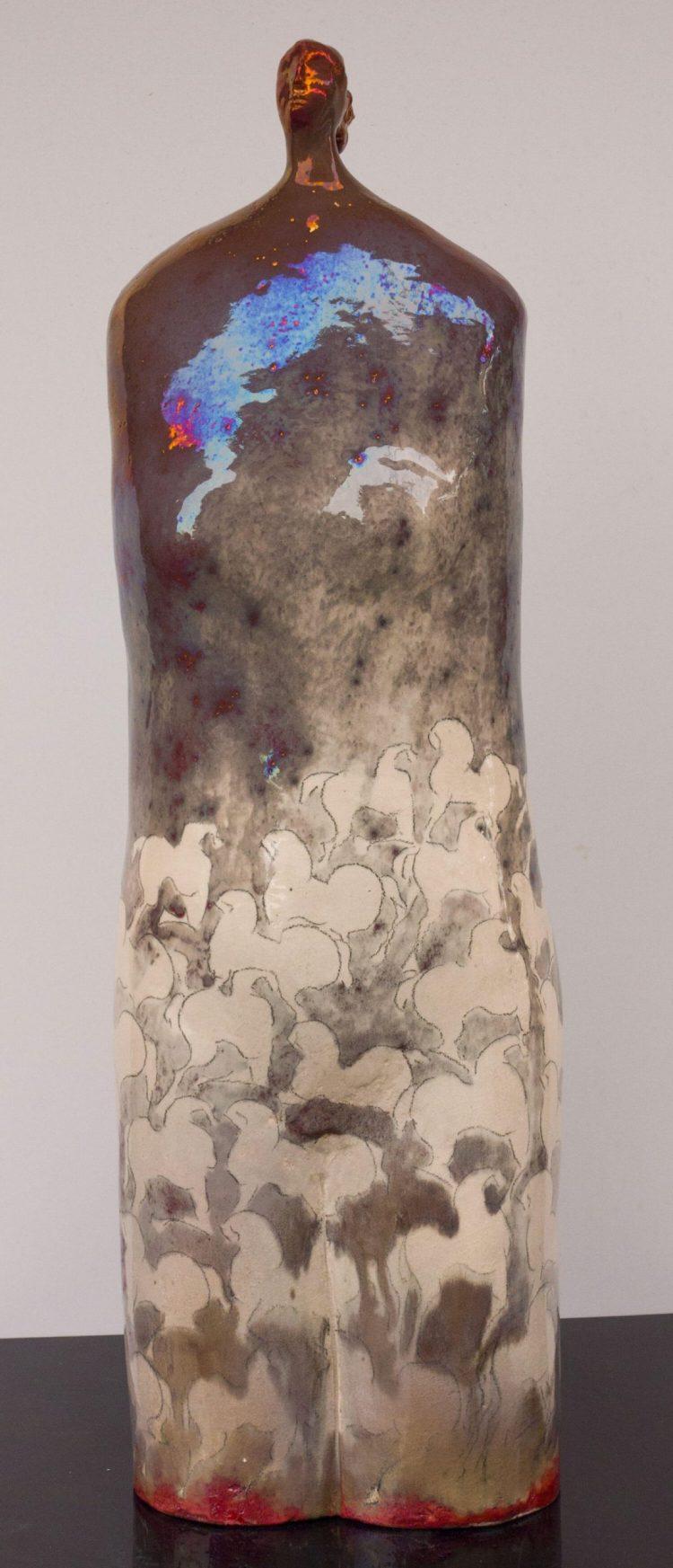 Angelo---Altezza-69cm---Ceramica