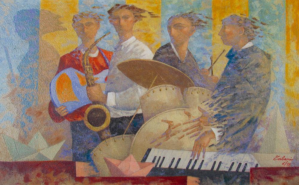 Blues-Band---110x70cm