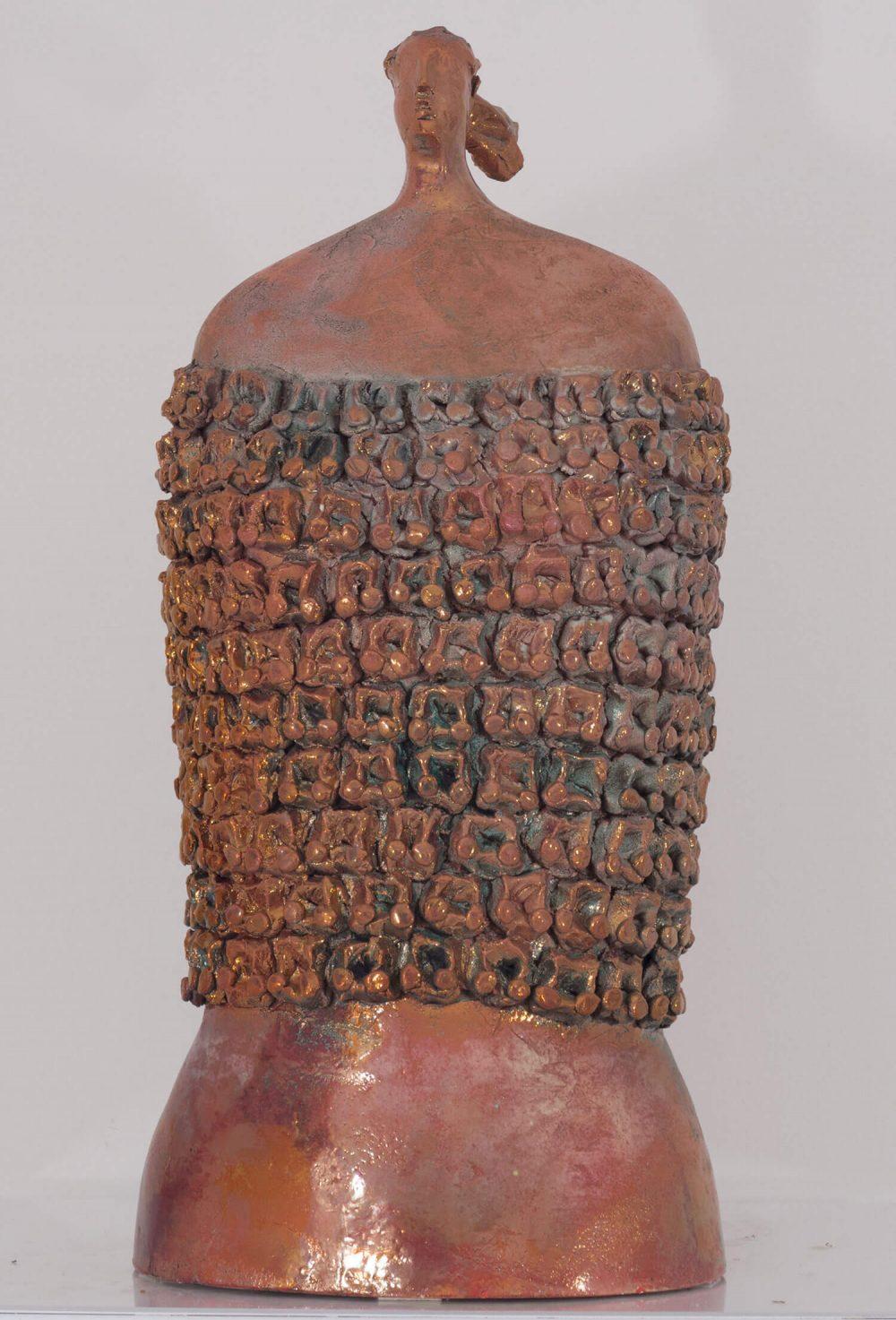 Busto-donna-guerriero---30xh60cm---Ceramica