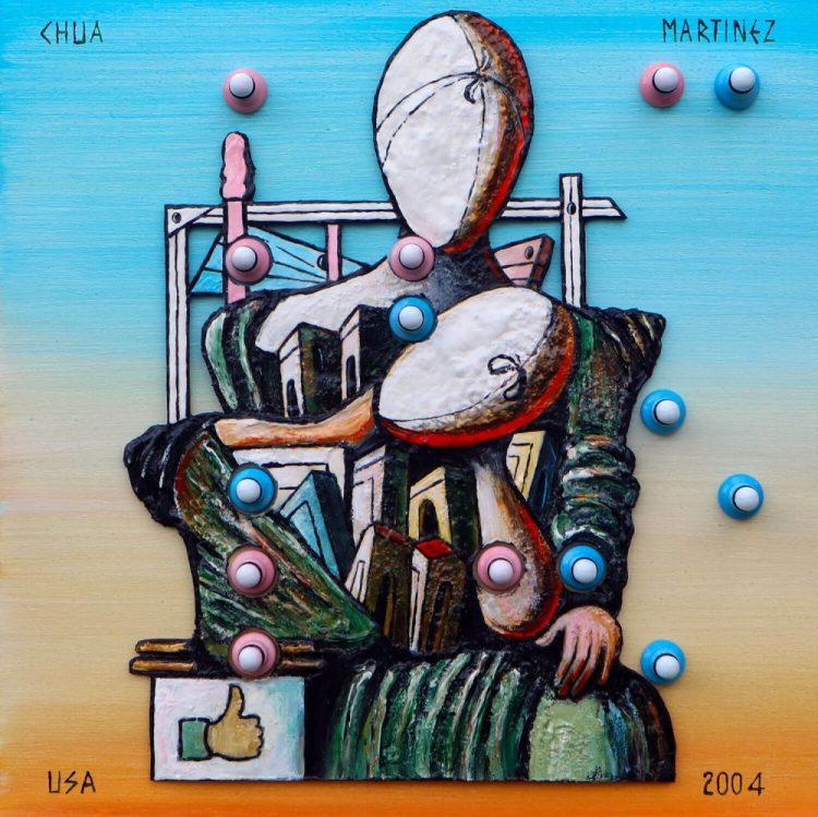 CHUA---MARTINEZ,-USA-2004-(2019)-30x30-Scacchi-e-Tecnica-mista-su-Tavola---Scacchi-e-tecn-mista-su-tavola