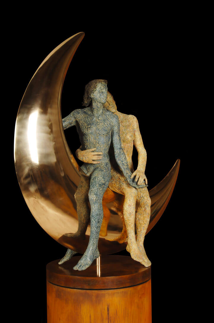 Cavalcando-la-Luna-(Grande)---H-120-x-108-x-52-cm