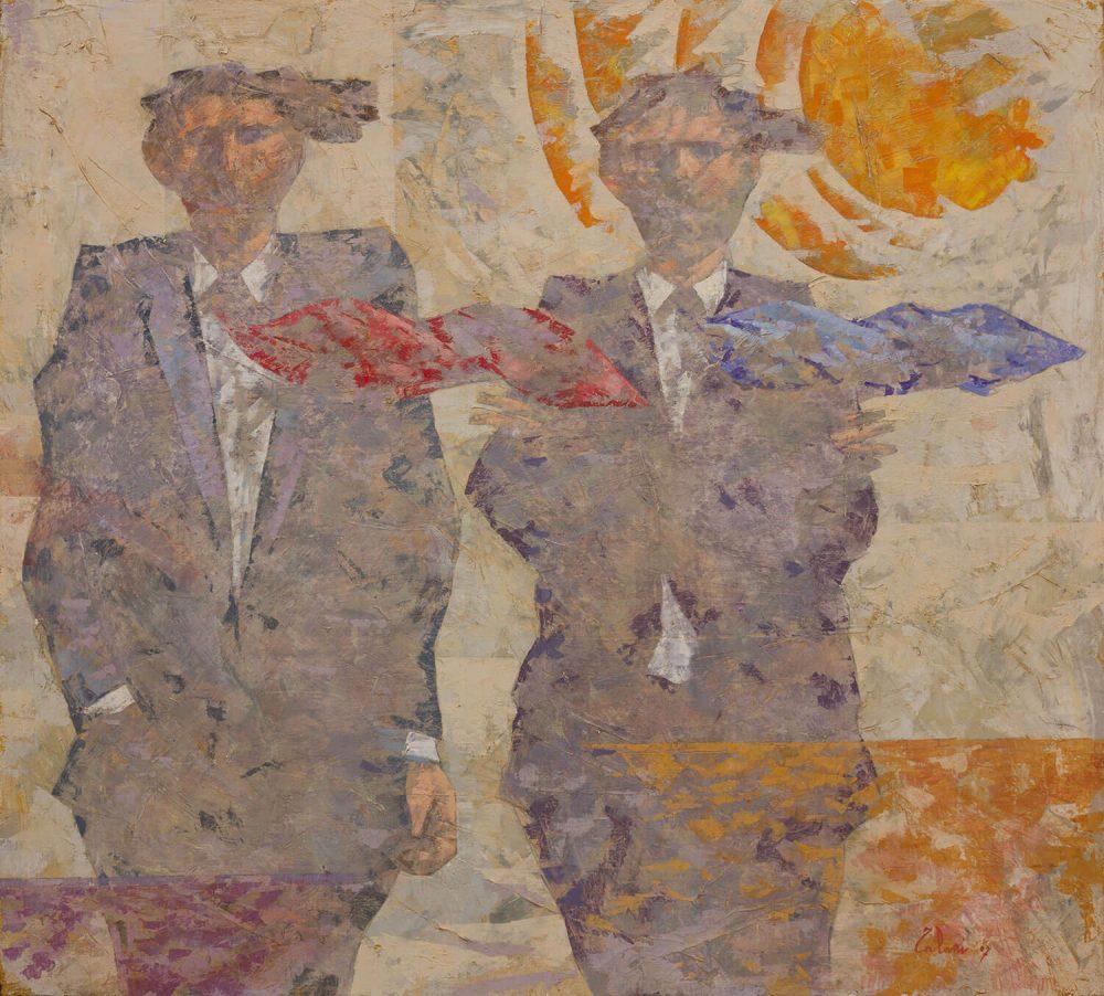 Due-ombre-che-aspettano---100x90cm---Olio-su-tela---2007
