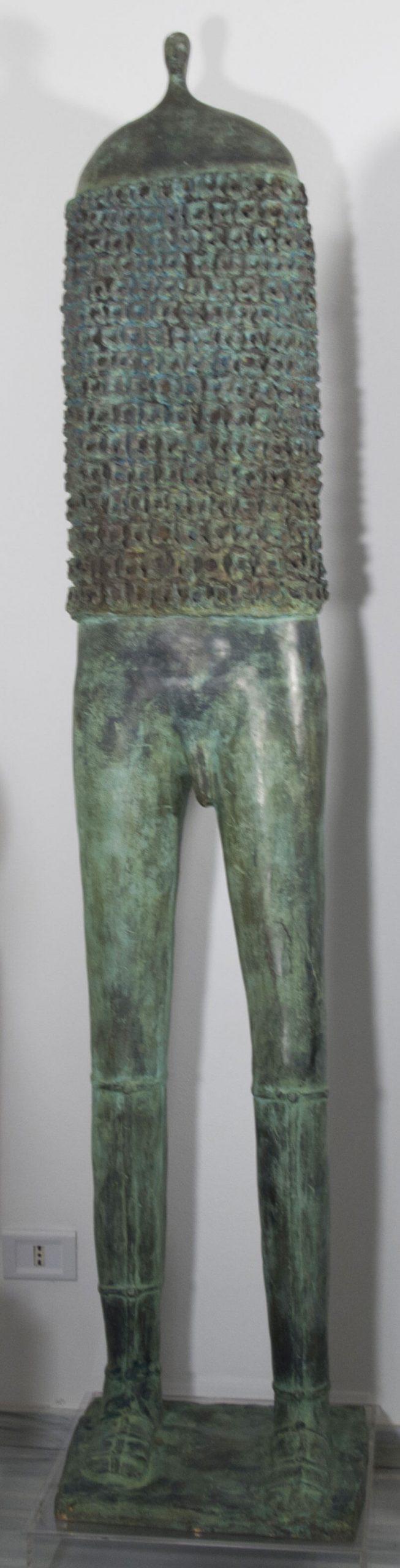 Guerriero-Uomo---42x38h204cm---Bronzo-3_6