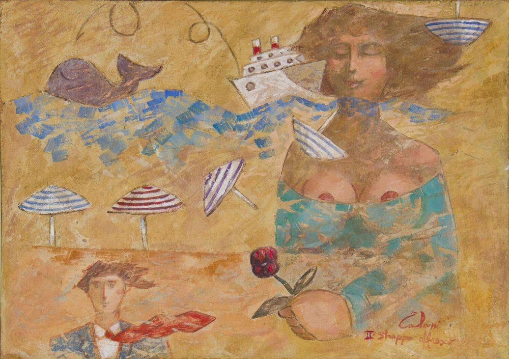 La-donna-innamorata-50x70cm-II-strappo-affresco-2011