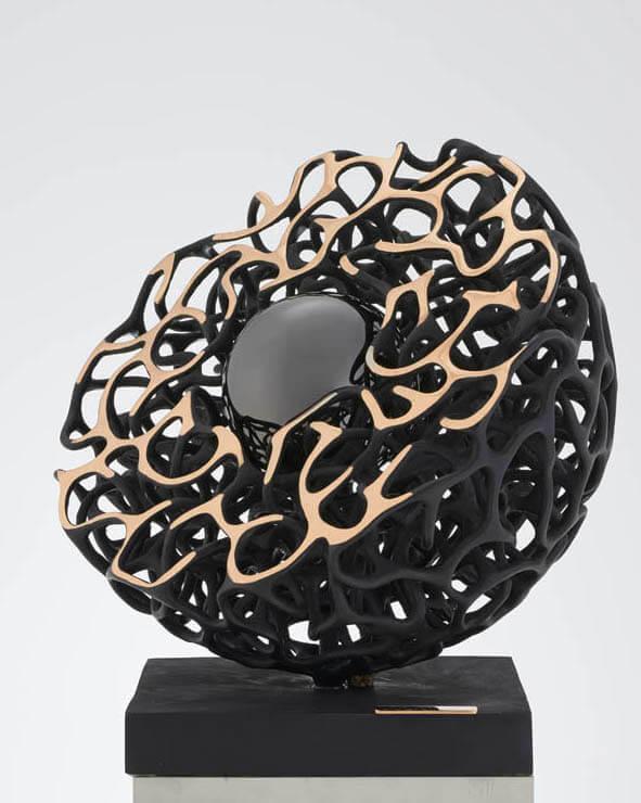 La-perla-nera---Diametro-60cm-2013-Bronzo