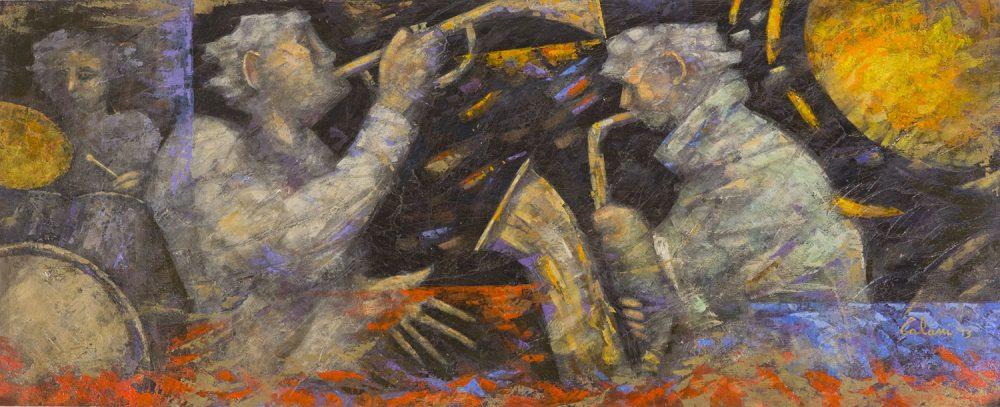 Le-ombre-jazz---Olio-su-tavola-50x120cm-2013