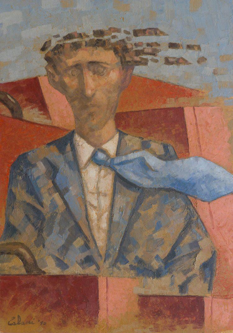 L'uomo-che-parte---50x70---Olio-su-tavola