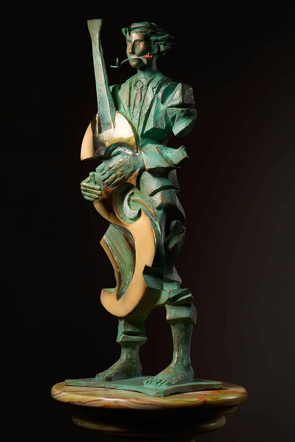 Musica-nel-vento--H46cm---Multiplo-in-bronzo-75-esemplari