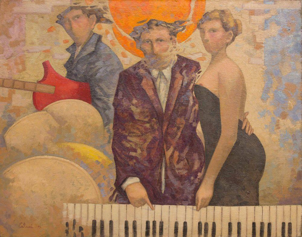 Musicisti-blues---100x120---Olio-su-tela---2009