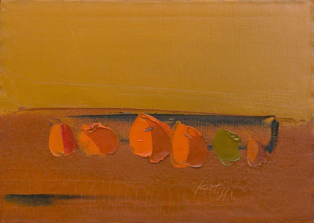 Natura---1960---50x70---Olio-su-tela