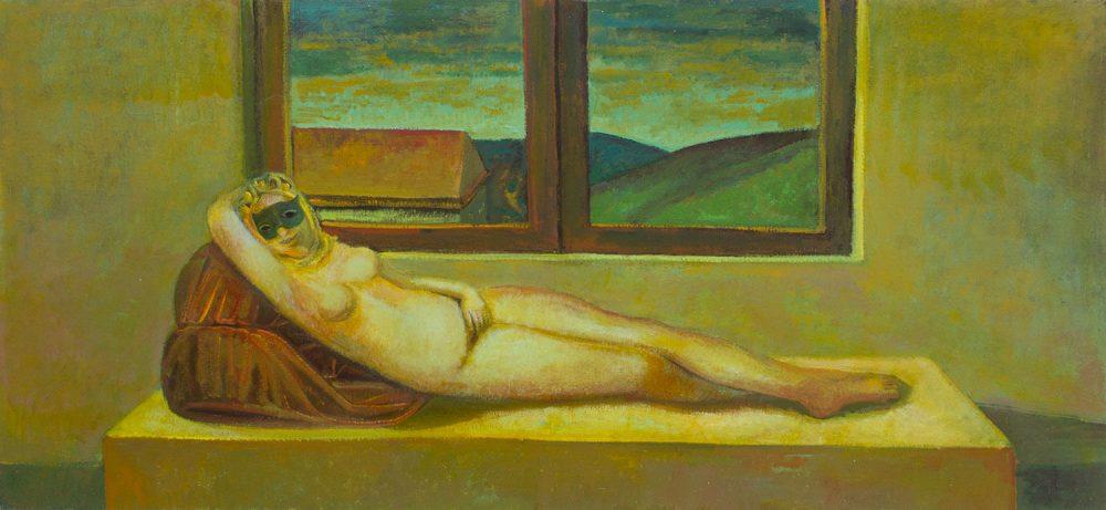 Omaggio-a-Giorgione---130x60cm---Olio-su-tela