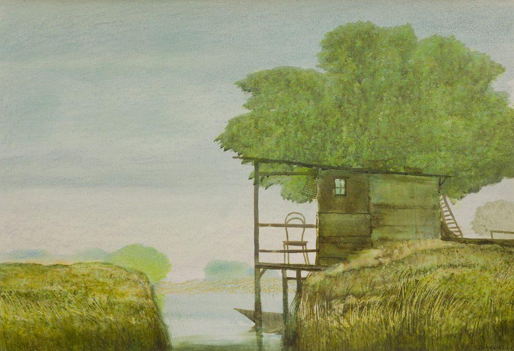 Paesaggio---35x50cm---Olio-su-cartone-