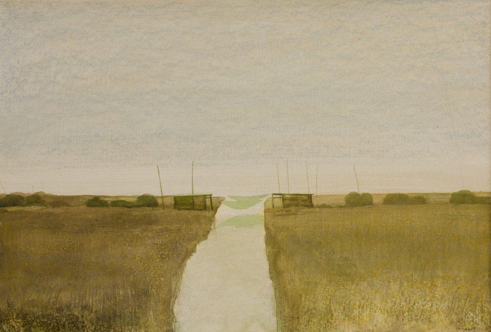 Paesaggio---35x50cm---Olio-su-cartone