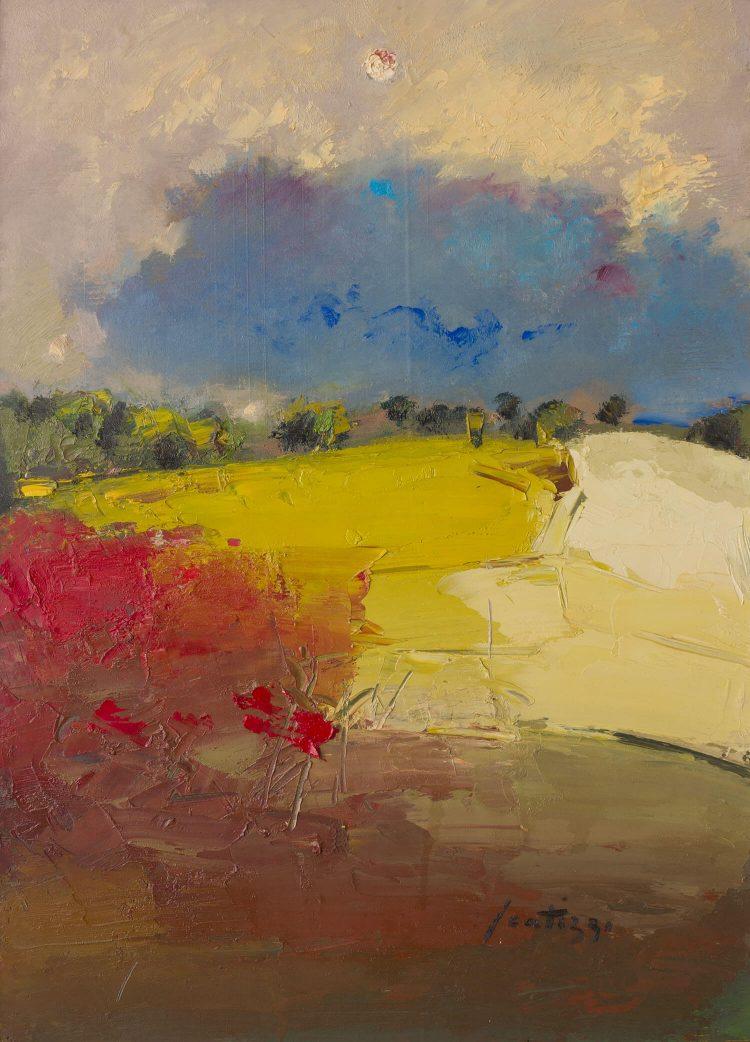 Paesaggio---70x95cm---2003---Olio-su-tavola