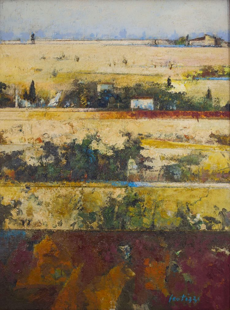 Paesaggio-in-Val-di-Nievole---83x114cm---Olio-su-tavola
