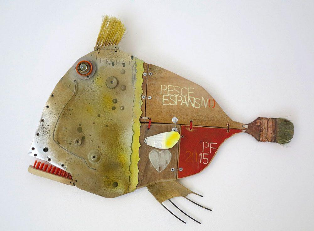 Pesce-espansivo---70x57cm---2015---Tecn-mista-con-materiali-di-riciclo