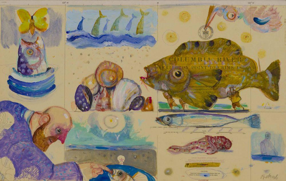 Senza-titolo---32x50cm---Olio-su-carta-nautica