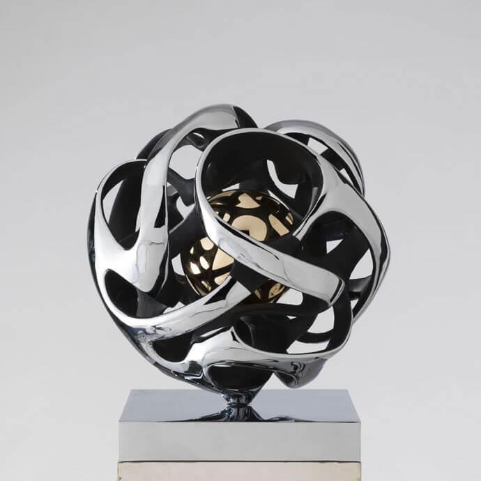 Sfera-Antares-diametro-40cm---2016-Bronzo