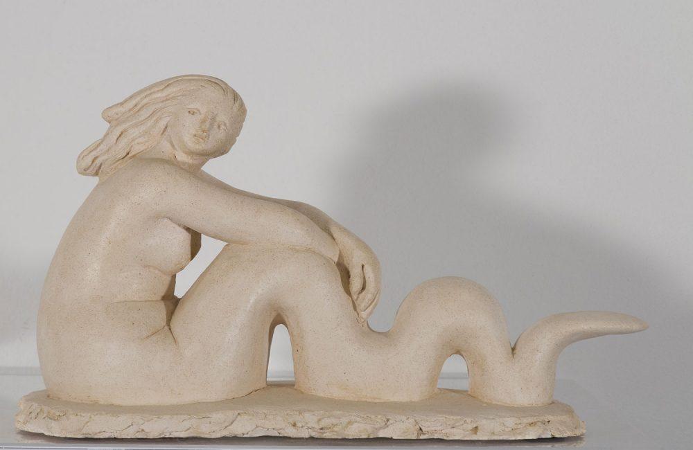 Sirena---40x18xh25cm---Terracotta---2014