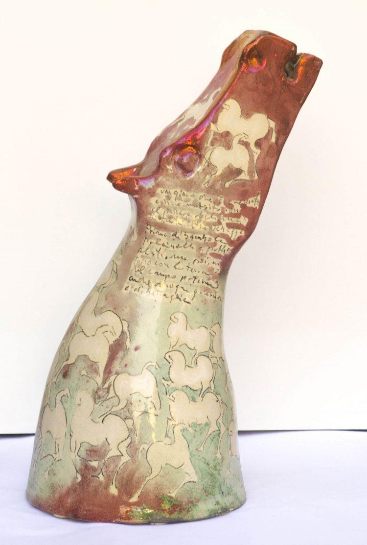 Testa-cavallo-H54cm---2008---Ceramica