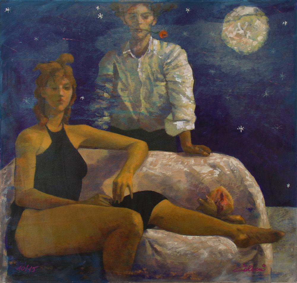 Una-notte-di-luna-piena---80x80cm