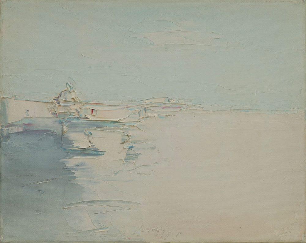 Venezia---40x50cm---Olio-su-tela