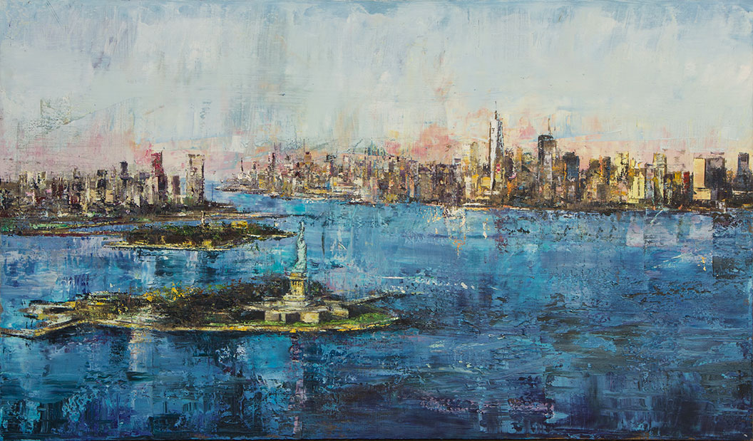 New York - 100x170cm - Olio su tela - 2020